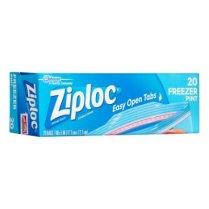 ziploc pint freezer bags